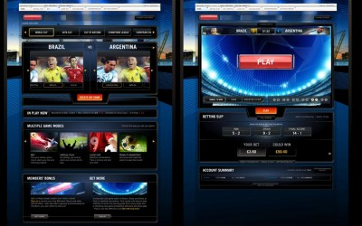 Bet - UI design for next gen sports betting system